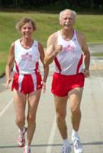 Bill & Jeanne Daprano break track & field world records at ages 75 & 66
